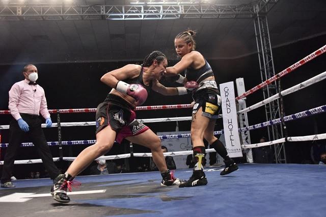 Supera Jackie Nava a 'La Bella' Fernández; va por título mundial