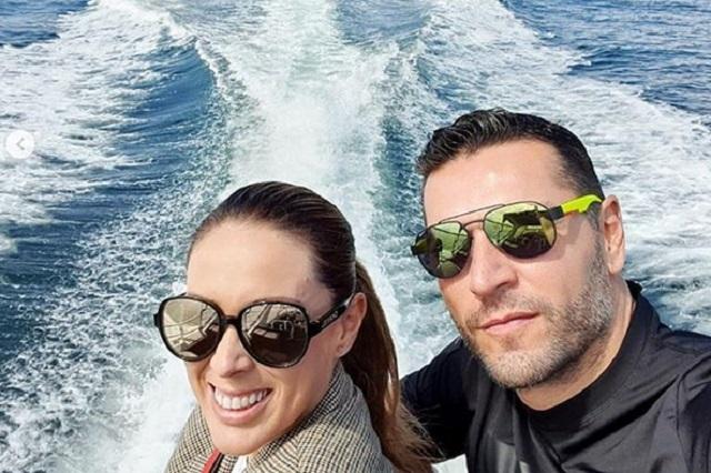 Jacqueline Bracamontes habla del accidente de su esposo