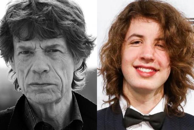 Sorprende el parecido de Lucas y su padre, el rockero Mick Jagger