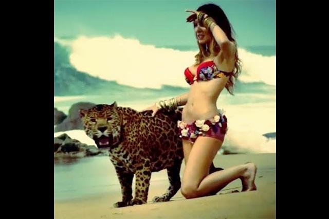Video de Belinda con jaguar enloquece a sus seguidores