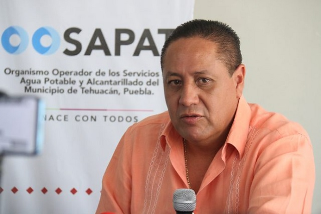 Embargarían a operador de agua en Tehuacán; debe 238 mdp