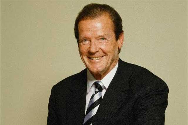 Murió a los 89 años Sir Roger Moore, quien diera vida a James Bond