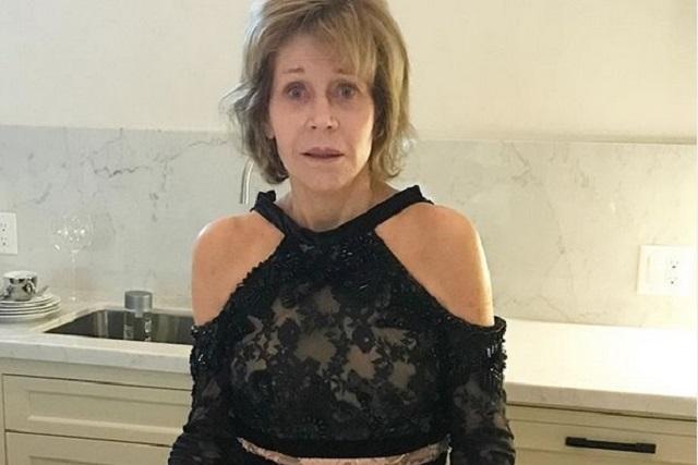 Arrestan a Jane Fonda durante manifestación en Washington