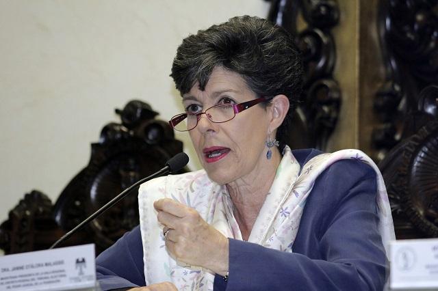Llega paquetería electoral; TEPJF verifica al detalle: Janine Otálora