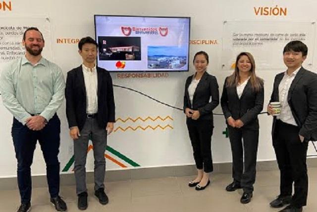 Visitan clientes potenciales de Japón Planta Procesadora TIF de Carroll