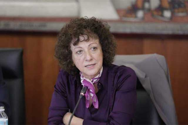 Jacqueline Peschard exige que se transparenten los contratos de Pegasus