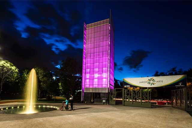 Jardín del arte, sede de la Noche de las estrellas, este sábado
