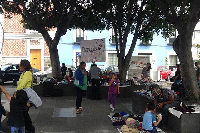 Comerciantes denuncian desalojo violento en jardín de El Carmen