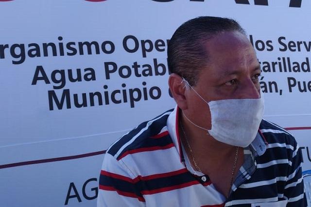 Detecta OOSAPAT 15 mil tomas clandestinas en Tehuacán