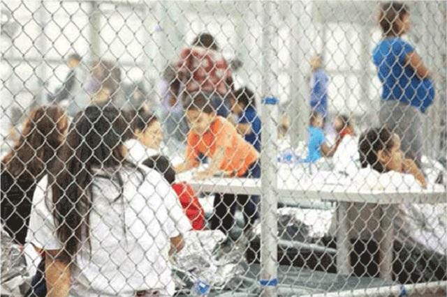 EU encierra en jaulas para terroristas a niños migrantes