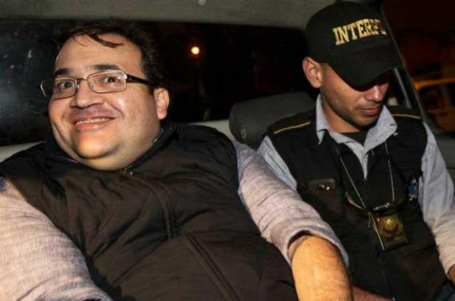 Javier Duarte inicia huelga de hambre en el Reclusorio Norte