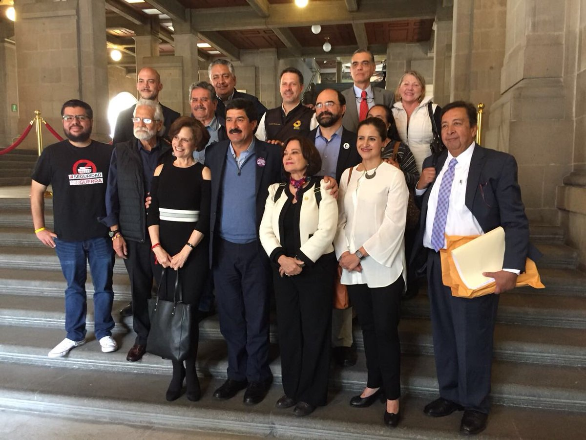 Javier Corral impugna la Ley de Seguridad Interior