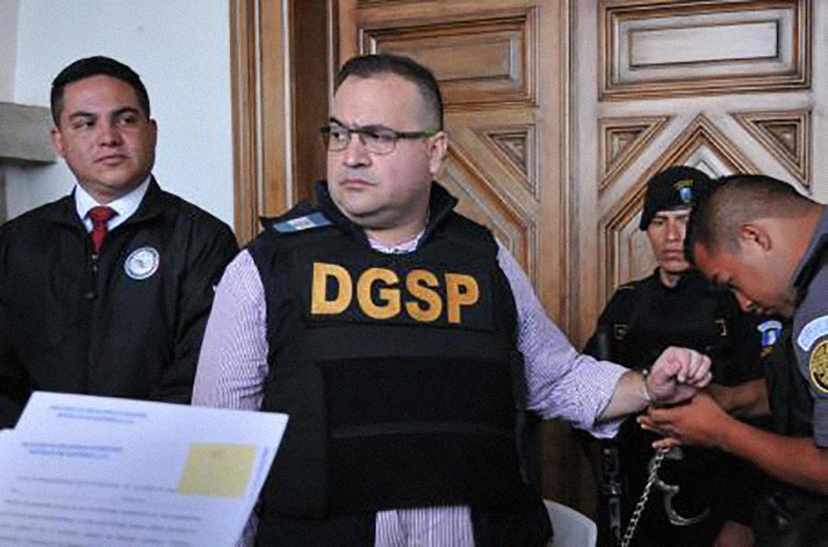 Duarte comió una sopa con su hermano y luego continuó su huelga de hambre