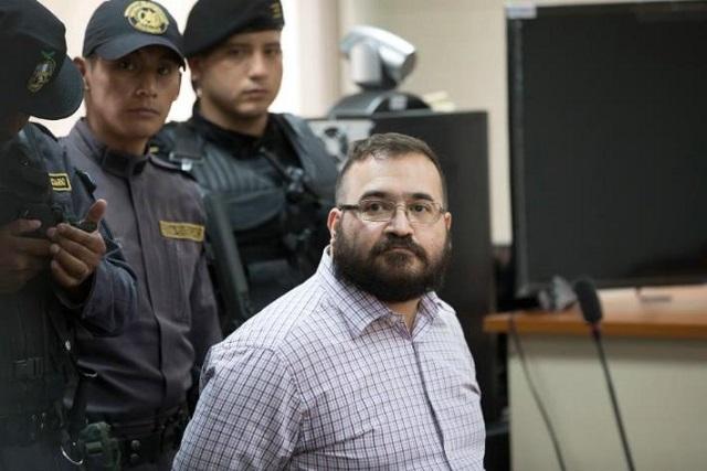 Juez podría vincular hoy a proceso a Javier Duarte