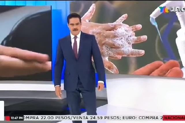 Memes se burlan de Javier Alatorre por pedir lavarse las manos con jamón