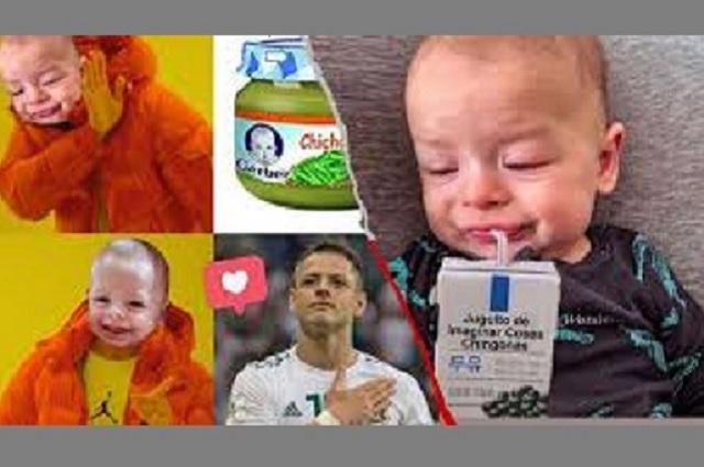 #NoahChallenge, los mejores memes del hijo del Chicharito