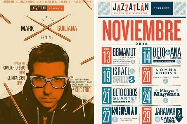 Noviembre lleno de jazz: Cartelera mensual Jazzatlán