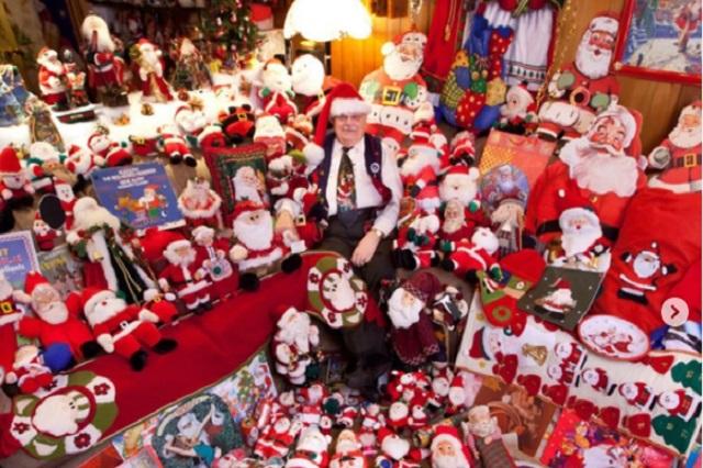 Te presentamos a Jean-Guy, el mejor fan que tiene Santa Claus