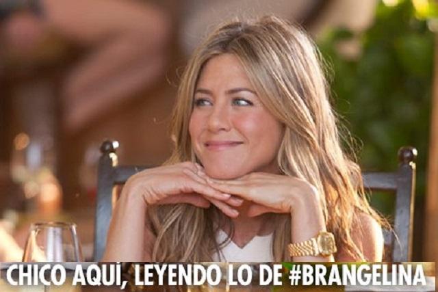Humor web: Goza Jenifer Aniston en memes del divorcio de #Brangelina