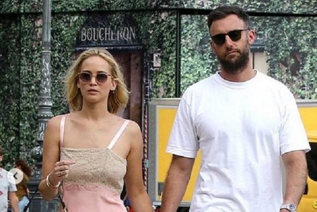 Jennifer Lawrence se comprometió con Cooke Maroney