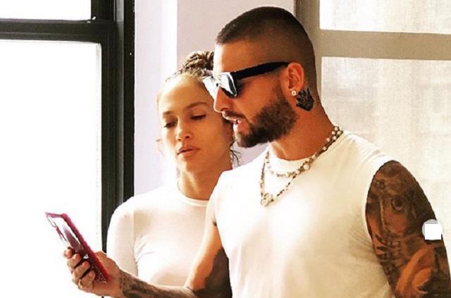 ¿Jennifer Lopez y Maluma inician rodaje de película romántica?
