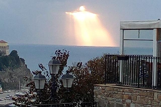 ¿Jesús se apareció en el cielo de Italia? La foto polémica viral