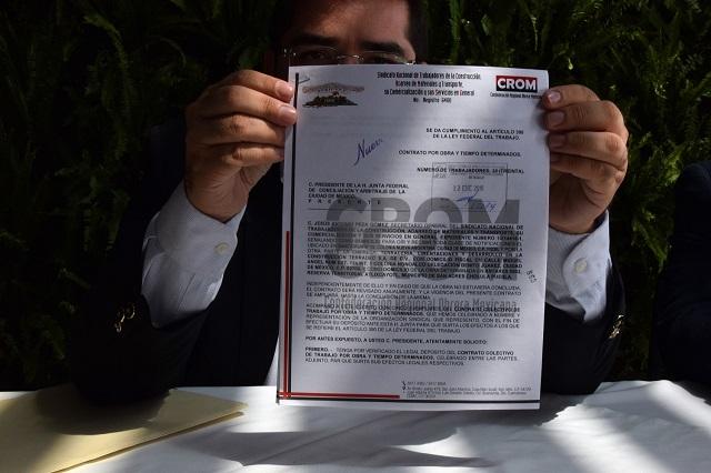 CROM tiene obra del nuevo hospital San Alejandro, no la CTM, aclaran