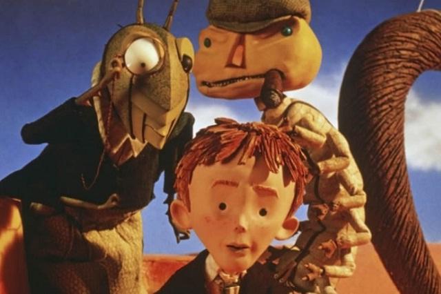 """Cine: """"Jim y el durazno gigante"""" en el CCU sábado 12:00 pm"""