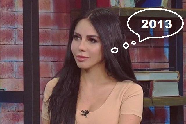 Así lucía Jimena Sánchez hace 5 años ¿la reconoces?