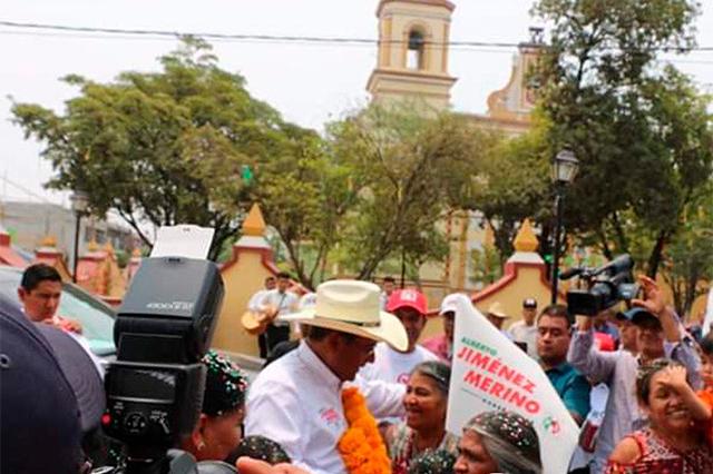 Descarta Jiménez Merino asistir al debate para echar pleito