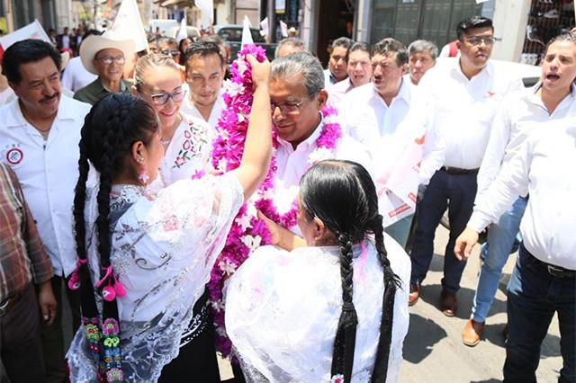 Plantea Jiménez Merino 500 mdp para recuperación del ISSSTEP