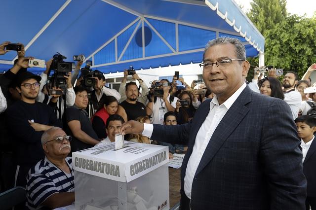 Llama Jiménez Merino a revertir dados cargados en la elección