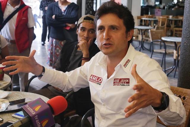 Representante del PRI denunció a José Juan por violencia de género
