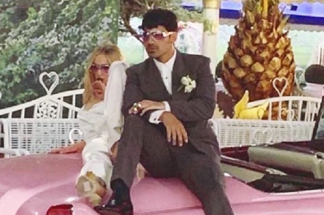 Joe Jonas y Sophie Turner se casaron en Las Vegas
