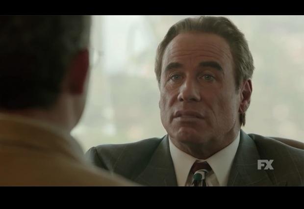 ¿Abusó del botox? Impacta a tuiteros rostro de John Travolta