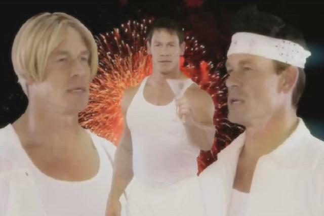 John Cena parodia a los Backstreet Boys y se vuelve viral