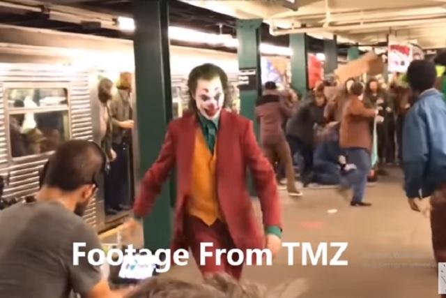 Extras de Joker orinan en el metro porque no los dejaron salir al baño