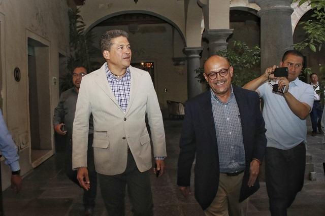 Confirma Cruz Bermúdez renuncia al PRD y apoyará a Barbosa