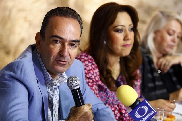 El PRI denunciará ante el INE promoción de RMV: Estefan