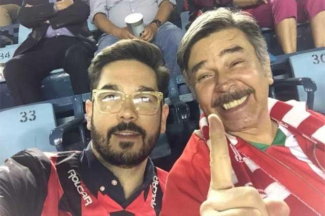 Golpean a Jorge Ortiz de Pinedo y a su hijo presuntos seguidores de Cruz Azul