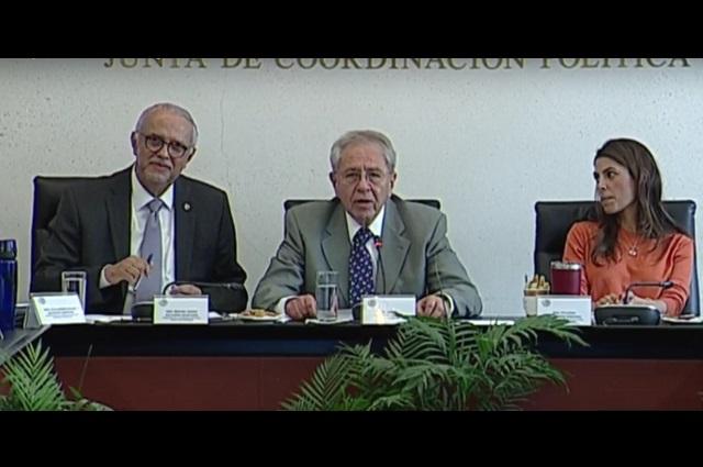 Foto / Senado de México.