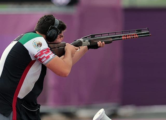 Jorge Orozco acarició el podio en fosa olímpica de Tokio 2020