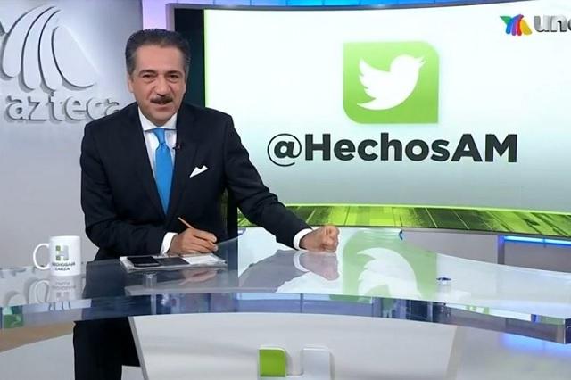 Tras 20 años de trabajo, TV Azteca deja fuera a Jorge Zarza