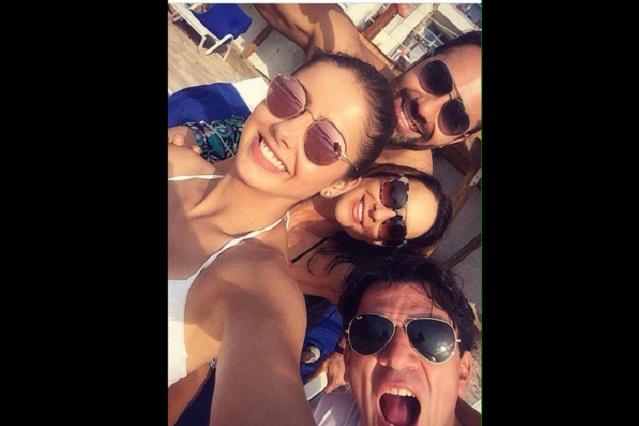Actores de Pasión y Poder se alejan de sus fans en Puerto Vallarta