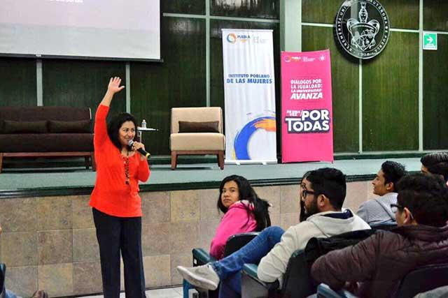 Jornada de sensibilización sobre violencia de género, en la BUAP
