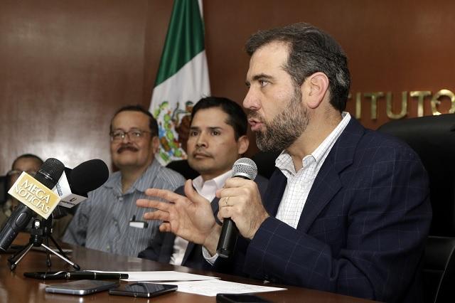 Jornada electoral en Puebla, exitosa en todos los frentes: Córdova