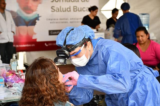Fortalecen acciones de salud para población de Cuautlancingo