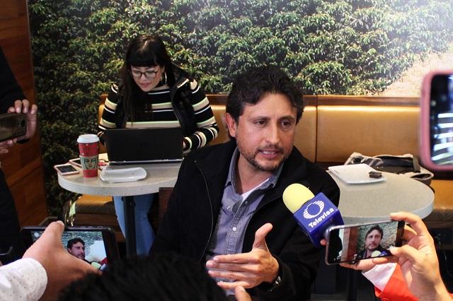 Va José Juan Espinosa por la alcaldía de Puebla en 2021