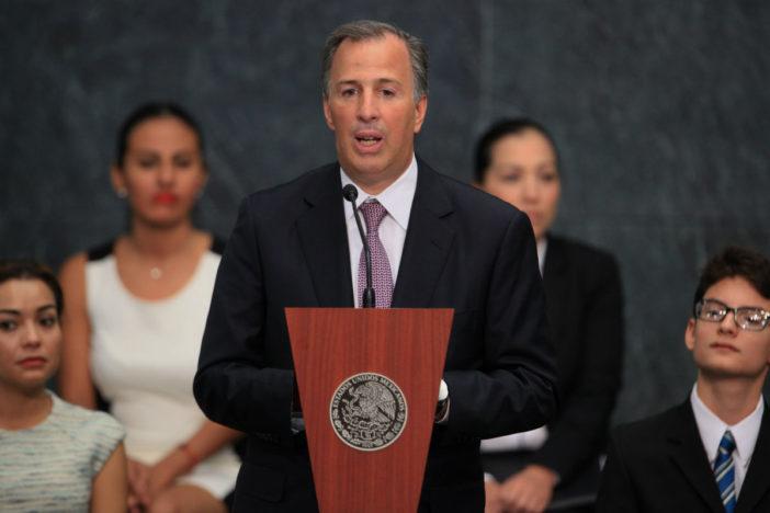 México tiene estabilidad económica gracias a Meade : Videgaray