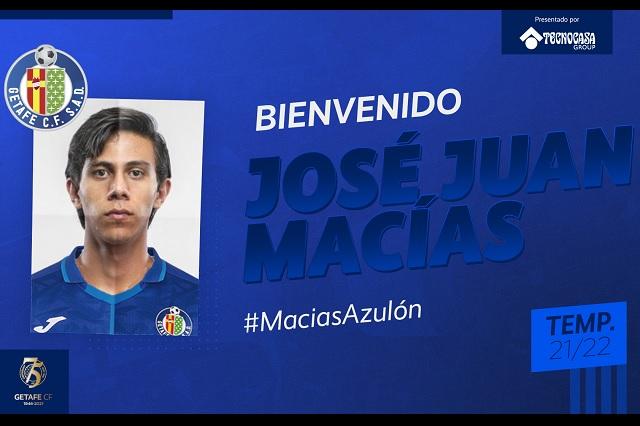 Getafe anuncia a JJ Macías como nuevo refuerzo